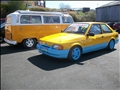 Yellow Day! Escort MK3 and VW Camper